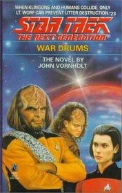 War Drums (Star Trek The Next Generation #23)
