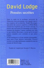 Pensees Secretes (French Edition)