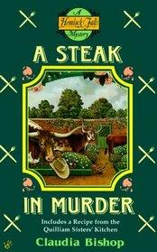 A Steak in Murder (Hemlock Falls, Bk 7)
