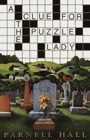 A Clue for the Puzzle Lady (Cora Felton, Puzzle Lady, Bk 1)