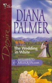 The Wedding in White (Men of Medicine Ridge, Bk 1) (Silhouette Desire