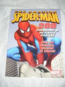 The Amazing Spider-man 288 Page Coloring & Activity Book