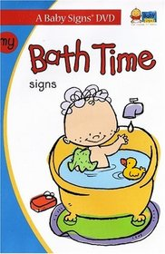 My Bath Time Signs (Baby Signs)