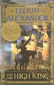 The High King (Chronicles of Prydain (Tb))