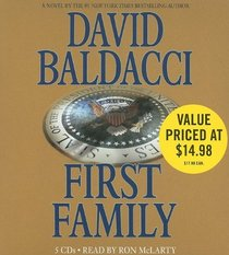 First Family (King & Maxwell, Bk 4) (Audio CD) (Abridged)