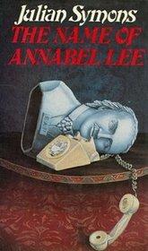 Name of Annabel Lee: 2