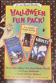 Halloween Fun Pack: Creepy Crawly Critters, in a Dark, Dark Room and Other Scary Stories, Ghosts! (I Can Read Books)