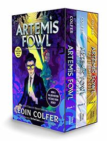 Artemis Fowl 3-book Paperback Boxed Set (Artemis Fowl, Books 1-3)