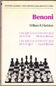 Benoni (111P) (Batsford Algebraic Chess Openings)
