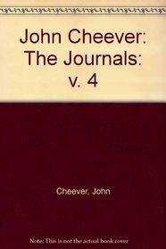John Cheever: The Journals: v. 4