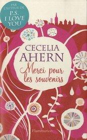 Merci pour les souvenirs (Thanks for the Memories ) (French Edition)