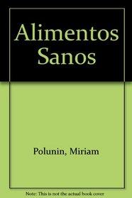 Alimentos Sanos (Spanish Edition)