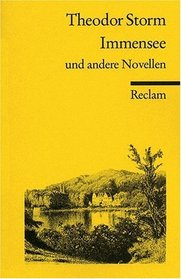 Immensee und andere Novellen (German Edition)