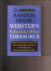 Random House Webster's School and Office Thesaurus