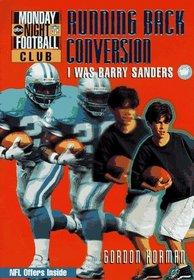 NFL Monday Night Football Club: Running Back Exchange - Book #2 : I Was Barry Sanders (NFL Monday Night Football Club)