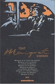 Tout Maigret, Tome 8 (French Edition)