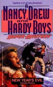 New Year's Evil (Nancy Drew Hardy Boy Supermystery)