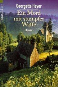 Ein Mord mit stumpfer Waffe (A Blunt Instrument) (German Edition)