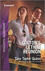 Colton's Lethal Reunion (Coltons of Mustang Valley, Bk 2) (Harlequin Romantic Suspense, No 2072)