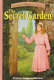 The Secret Garden (Treasury of Illustrated Classics) (Large Print)