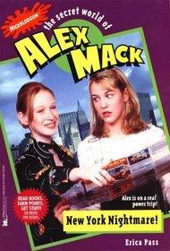 NEW YORK NIGHTMARE! THE SECRET WORLD OF ALEX MACK #31 (ALEX MACK)