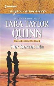 Her Secret Life (Where Secrets are Safe, Bk 10) (Harlequin Superromance, No 2072) (Larger Print)