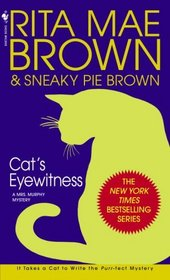 Cat's Eyewitness (Mrs. Murphy, Bk 13)