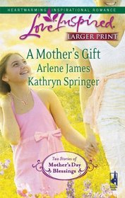 A Mother's Gift: Dreaming of a Family / The Mommy Wish (Love Inspired, No 553) (Larger Print)