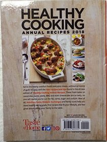 Healthy Cooking Annual Recipes 2018