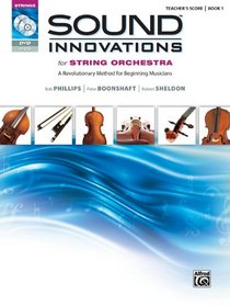 Sound Innovations for String Orchestra, Bk 1: A Revolutionary Method for Beginning Musicians (Conductor's Score) (Book, CD & DVD)