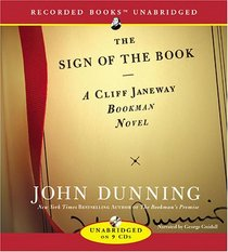 Sign of the Book (Cliff Janeway, Bk 4) (Audio CD) (Unabridged)
