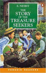 The Story of the Treasure Seekers: Book and Cassette (Penguin Readers: Level 2)