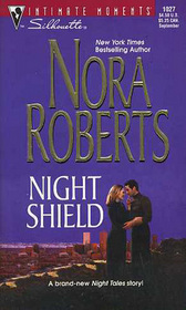 Night Shield (Night Tales, Bk 5) (Silhouette Intimate Moments, No 1027)