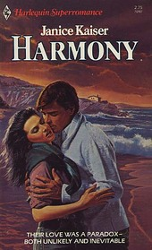 Harmony (Harlequin Superromance No. 187)