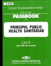 Principal Public Health Sanitarian Test Preparation Study