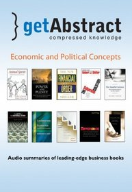 Economics and Political Concepts (getAbstract Series)