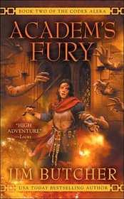 Academ's Fury (Codex Alera, Bk 2) (Unabridged Audio CD)