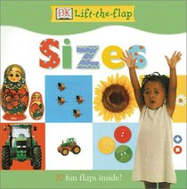 DK Lift the Flap Sizes Board Book
