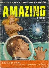 Amazing Stories, July 1956 (Volume 30, No. 7)
