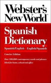 Webster's New World Spanish Dictionary: Spanish/English English/Spanish