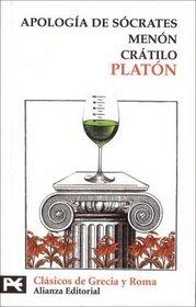 Apologia de Socrates / Apology: Menon. Cratilo (El Libro De Bolsillo) (Spanish Edition)