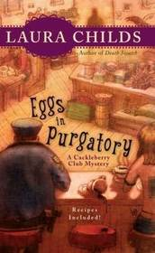 Eggs in Purgatory (Cackleberry Club, Bk 1) (Large Print)