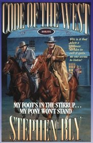 My Foot's in the Stirrup...My Pony Won't Stand (G K Hall Large Print Book Series)