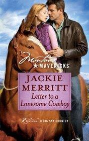 Letter to a Lonesome Cowboy (Montana Mavericks)