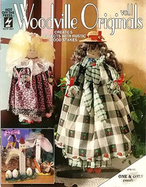 Woodville Originals: Create 5 Projects with Rustic Wood Stakes (Vol 1)