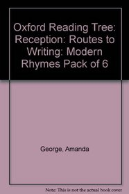 Oxford Reading Tree: Oxford Reading Tree: Reception: Routes to Writing: Modern Rhymes: Pack of 6
