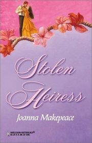 Stolen Heiress (Harlequin Historicals, No 98)