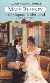 The Captain's Mermaid (Zebra Regency Romance)