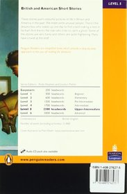 Level 5: British and American Short Stories Book and MP3 Pack (Pearson English Graded Readers)