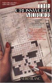 The Crossword Murder (Crossword Mystery, Bk 1)